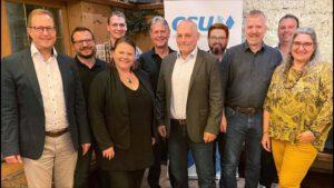 Jahreshauptversammlung des CSU Ortsverbandes
